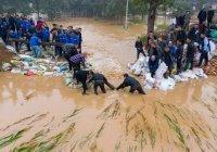 Не менее 15 человек погибли в результате наводнений в Китае