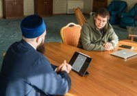 Муфтий провел прием граждан в мечети «Кул Шариф»