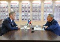 Минниханов провел встречу с главой Башкортостана