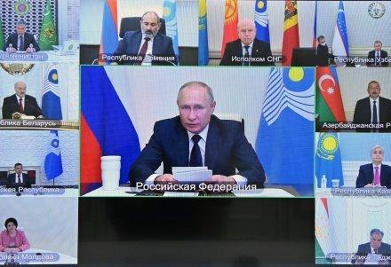 Лидеры стран-участниц СНГ приняли совместное заявление