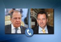 Лавров обсудил Сирию и Афганистан с президентом МККК