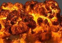 Мощный взрыв прогремел на заводе в Пакистане (Видео)