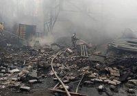 Пожар на пороховом заводе в Рязанской области унес жизни 7 человек