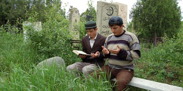 Какую молитву читают мусульмане на кладбище?