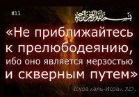 История о том, как Посланник Аллаха ( мир ему и благословение) сдержал юношу от прелюбодеяния