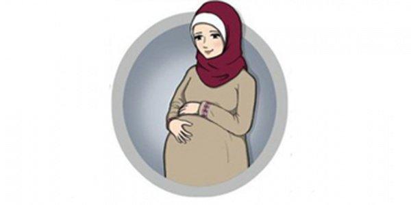 Молитва мусульманки во время беременности