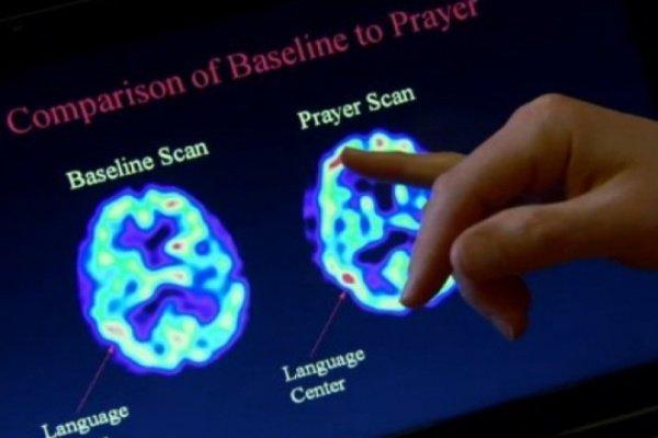 Влияние молитвы на мозг