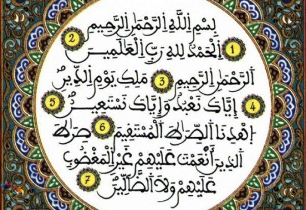 Сура Аль-Фатихи