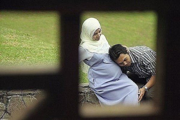 Мусульманка беременная картинки