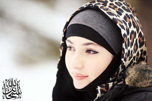 Моя шапка и шарф полностью закрыли мой хиджаб...