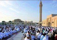 Ид-намаз  - праздничный намаз в честь Аллаха