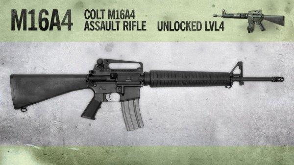 M16a4 - штурмовая винтовка