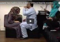 Видео дня: одному мужчине никогда не справиться с двумя женщинами!