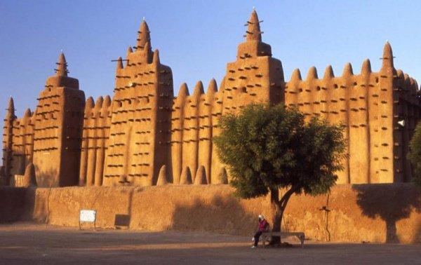 Мечети Мали. Большая мечеть Дженне