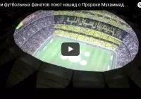 Видео дня: тысячи футбольных фанатов поют нашид о Пророке Мухаммаде (ﷺ)