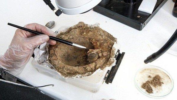 Фото дня: В древней могиле викингов нашли кольцо с надписью «Для Аллаха»