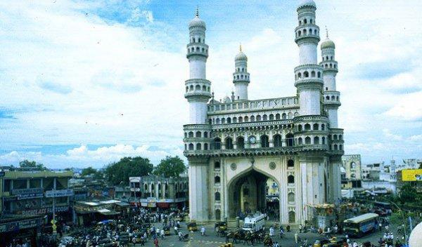 Мечеть Чарминар или Мечеть четырех минаретов