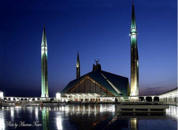 Мечеть Фейсал (Faisal Mosque) в Исламабаде