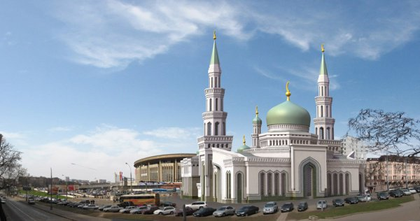 На фото: Московская соборная мечеть