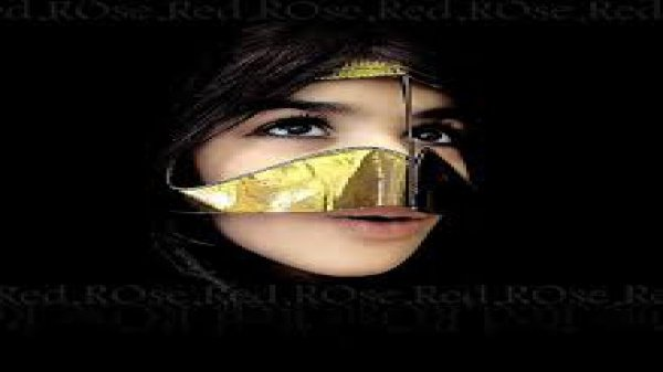 Для чего арабские женщины носят золотые маски?