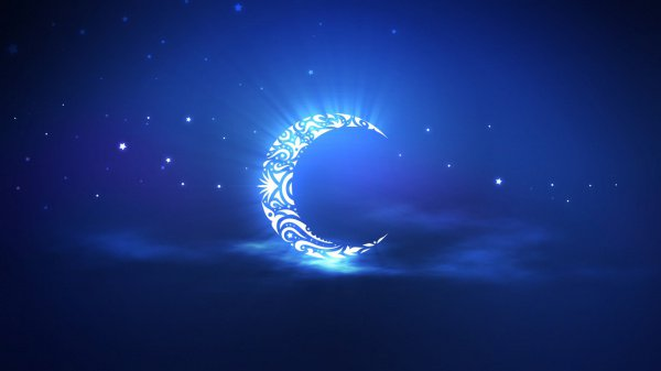 Когда полумесяц стал использоваться в качестве религиозного символа?