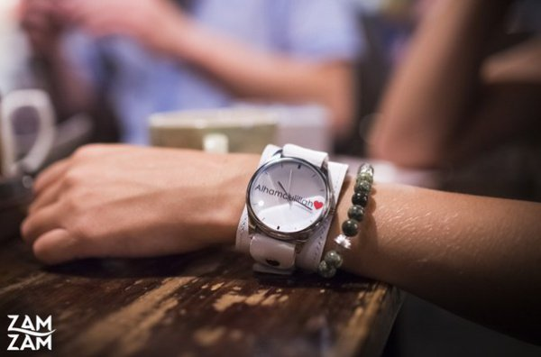 Российский бренд Zam-zam представил уникальные часы ручной работы
