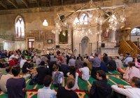 Закрытие мечети в церкви Венеции вызвало скандал