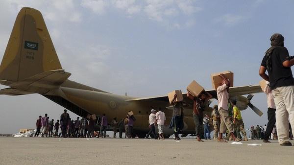 Самолет доставил 10 тонн помощи