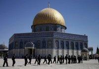 Израильский флаг на мечеть пытались установить в Иерусалиме