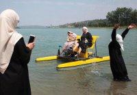 Первый женский пляж открыли в Чечне