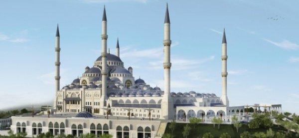 Компьютерная модель новой мечети