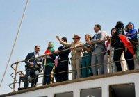 Первая леди Египта появилась на публике в хиджабе
