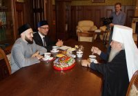 Муфтий Татарстана встретился с митрополитом