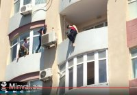 Храбрец в Азербайджане спас женщину от самоубийства
