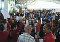 Вулкан заблокировал аэропорт на Бали