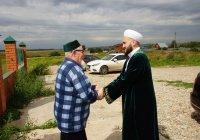 Муфтий Татарстана провел пятничную проповедь в деревне Куюки