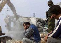 В Иерусалиме снесли 20 домов палестинцев