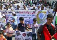 Работники ООН протестуют против урезания помощи Газе
