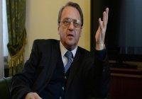 Михаил Богданов: если ничего не делать, Сирия может исчезнуть