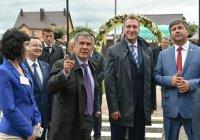 Рустам Минниханов и Игорь Шувалов открыли 3 детских сада в Лаишевском районе