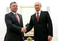 Владимир Путин встретится с королем и принцем Иордании
