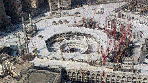 Все строительные работы в ней прекратятся к 9 сентября, чтобы паломникам было комфортно выполнять ритуалы
