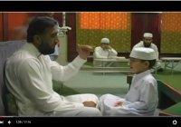 Вот так тренируются юные Коран-хафизы