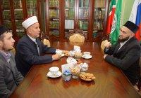 Глава палестинского отделения университета аль-Азхар посетил ДУМ РТ