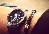В Сети появилось первое живое фото часов Samsung Gear S2