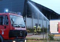 В Германии подожгли приют для беженцев