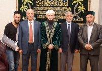 Муфтий РТ встретился с преподавателями университета «Ахль аль-Бейт»