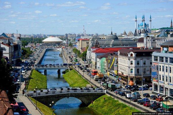 Казань вошла в ТОП-3 самых популярных городов РФ у туристов .