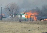 В Хакасии завершилось строительство домов для погорельцев