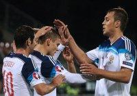 Матч Россия-Лихтенштейн завершился счетом 7:0